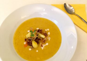 Leckere Herbst-Suppe